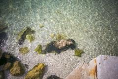 Cristal clear sea