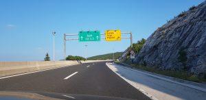 Highway exit Prgomet